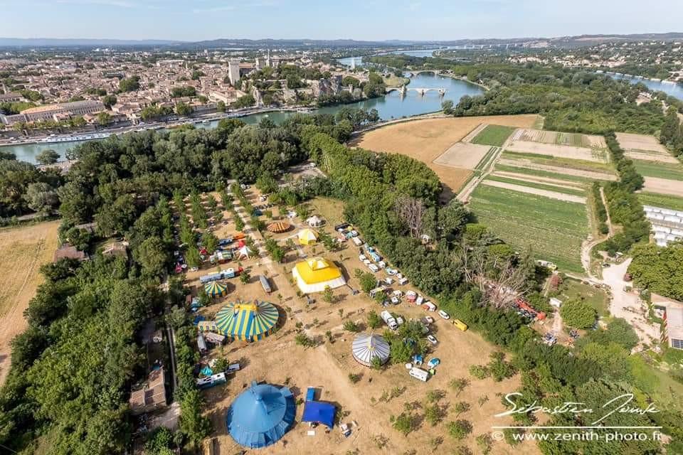 AVIGNON 2019 - ILE DE LA BARTHELASSE