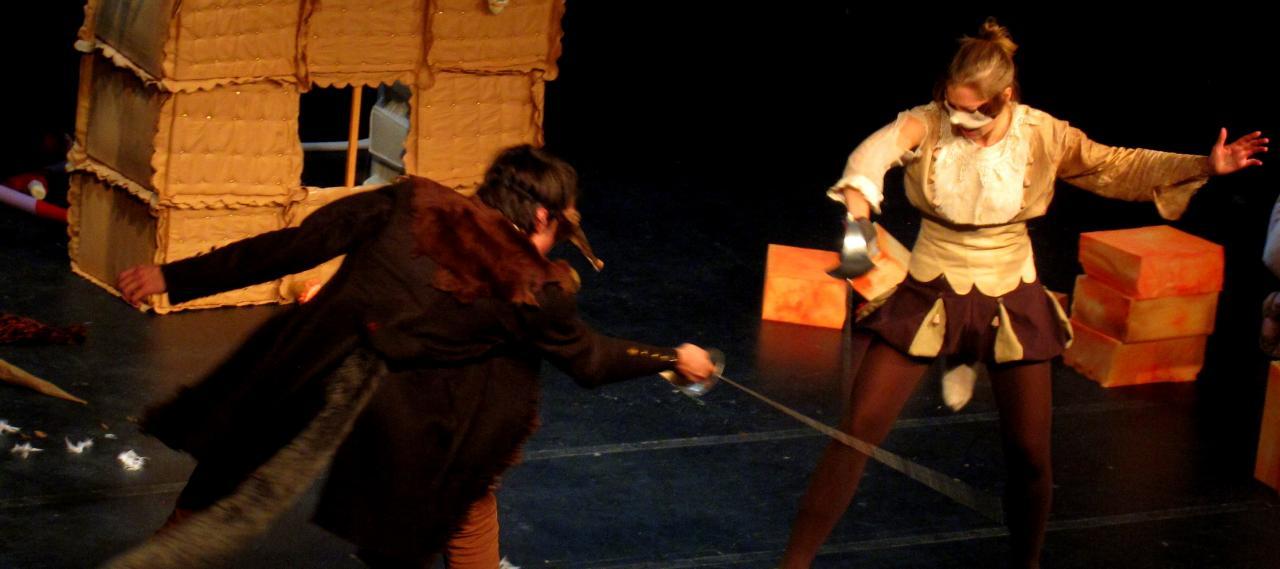 Comédie de capes et d'épées