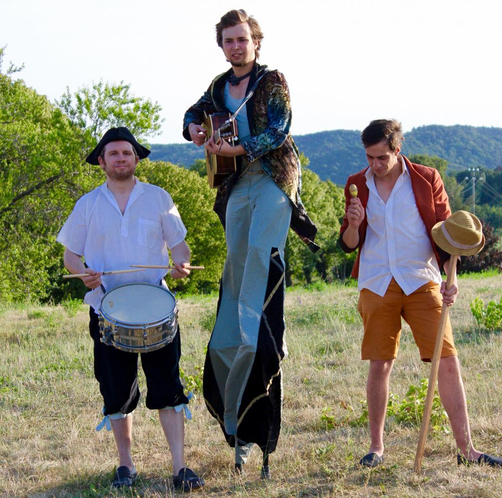 Les garçons en musique